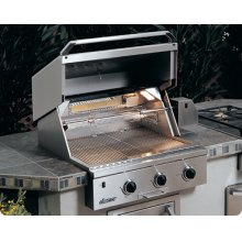 "Epicure 30"" Built-in Outdoor Grill"