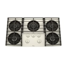Whirlpool Gold® 36-Inch Gas Cooktop
