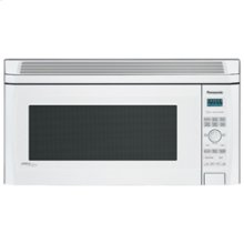 Over-the-Range 2.0 cu. ft. Inverter Microwave Oven with 1200 Watt High Power and Easy-to-Use Pop-Out Dial, White