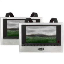 "7"" Two Screen Portable DVD"