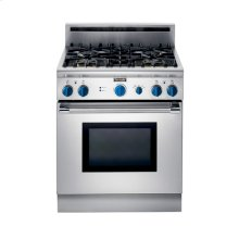 """30"""" ALL-GAS RANGE WITH 4 STAR®BURNERS AND 6"""" BACK GUARD"""