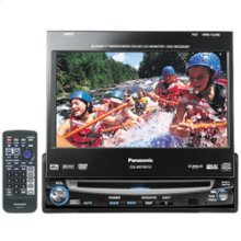 "In-dash 7"" diagonal Widescreen Color LCD Monitor/DVD Receiver"