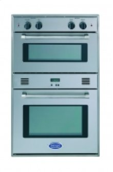 "30"" STAINLESS STEEL SINGLE CONVECTION MICROWAVE SPEEDCOOKING OVEN WITH ROBUST HANDLE"