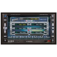"AM/FM/DVD/CD/MP3/WMA/SD Card Reader 2.0 Din with Fully Motorized 6.5"" Touch Screen"