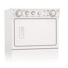 White-on-White Whirlpool® 6 Cycle, Extra Large Capacity Washer With Gas Dryer