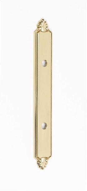 Bella Backplate A1457-3 - Polished Brass