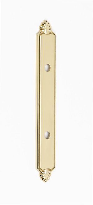 Bella Backplate A1457-3 - Polished Brass
