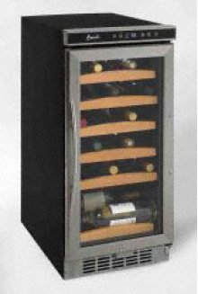 30 Bottle Wine Chiller with Electronic Display