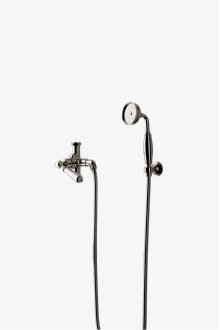 Easton Classic Handshower with Diverter and Metal Lever Handle STYLE: EAHS32
