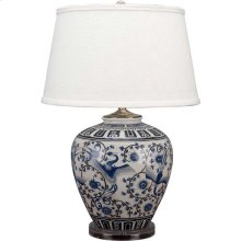 Phoebe Table Lamp, BLUE, ONE