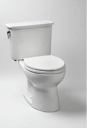 Cotton Eco Drake® Transitional Toilet, 1.28 GPF - Universal Height
