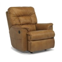 Great Escape Leather Power Recliner Product Image