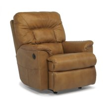 Great Escape Leather Power Recliner