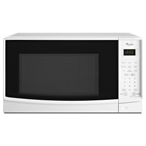 0.7 cu. ft. Countertop Microwave with Electronic Touch Controls - WHITE
