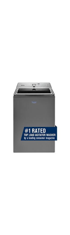 Top Load Washer with the Deep Fill Option and PowerWash(R) Cycle - 5.2 cu. ft.  METALLIC SLATE