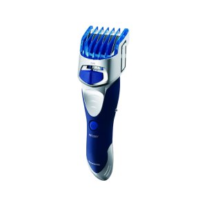 PANASONICPrecision Beard Trimmer, Hair Clipper, and Body Groomer with Wet/Dry Convenience - ER-GS60-S