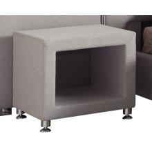 Nightstand Upholstered-light Gray#fms-dm138-13