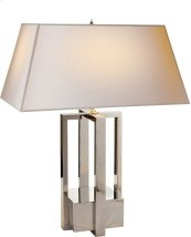 Visual Comfort AH3044PN-NP Alexa Hampton Ingrid 31 inch 60 watt Polished Nickel Decorative Table Lamp Portable Light