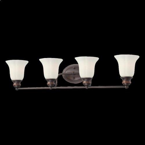 4-LIGHT BATHBAR - Oil Rubbed Bronze