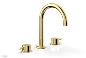 BASIC II Widespread Faucet 230-04 - Polished Gold