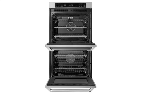 "27"" Heritage Double Wall Oven, DacorMatch, color matching Epicure Style handle"