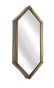 Gold Hexagon Mirror