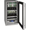"5 Class 18"" Beverage Center With Stainless Frame (with Lock) Finish and Right-hand Hinged Door Swing (115 Volts / 60 Hz)"