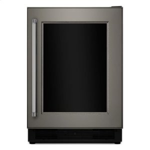 """Kitchenaid24"""" Panel Ready Beverage Center with Glass Door - PANEL NOT INCLUDED! - EDMOND LOCATION ONLY!"""
