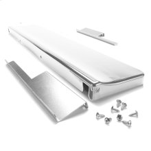 "6"" Slide-in Range Backsplash, White"