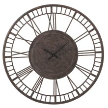 Oversized Vintage Wall Clock