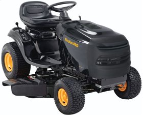 "14.5 hp Briggs & Stratton, 42"" stamped steel deck"