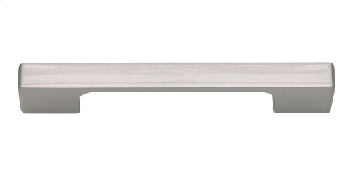 Thin Square Pull 3 3/4 Inch (c-c) - Brushed Nickel