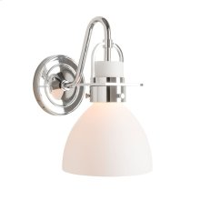Castleton 1 Light Domed Sconce