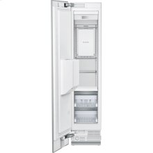 18-Inch Built-in Panel Ready Freezer Column with Ice & Water Dispense, Left Side Door Swing.