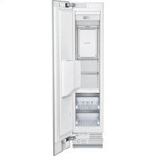 18-Inch Built-in Panel Ready Freezer Column with Ice & Water Dispense, Left Side Door Swing.