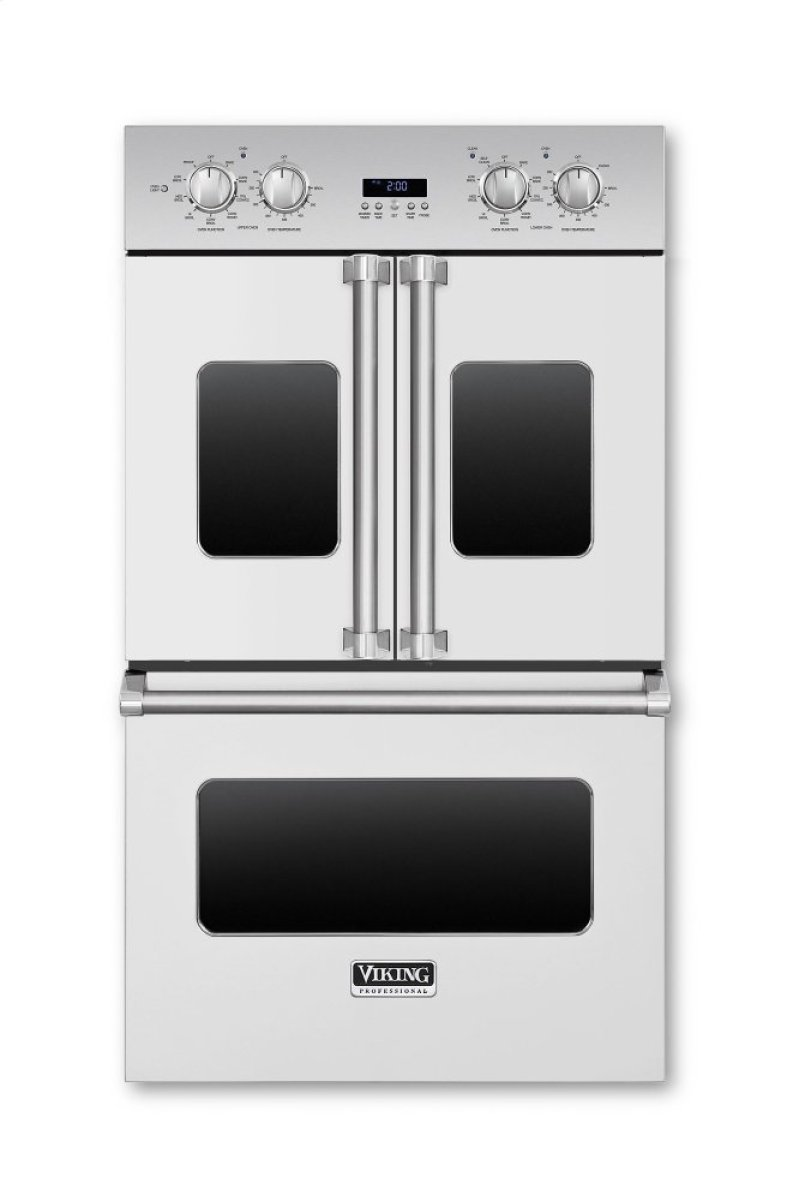 Vdof730ss in stainless steel by viking in williston park ny 30 30 electric double french door oven viking logo rubansaba