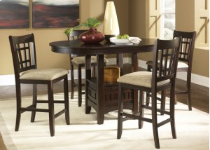 20-4260/8624  Pub Table and 4 Stools
