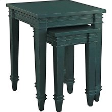 Indigo Blue Accents Nesting Table Riverway