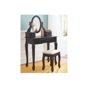 Ashley FurnitureSIGNATURE DESIGN BY ASHLEYVanity/Mirror/Stool (3/CN)