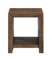 Emerald Home Pine Valley End Table-burnished Pine Finish T744-01 Product Image