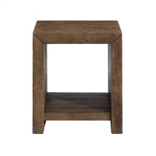 Emerald Home Pine Valley End Table-burnished Pine Finish T744-01