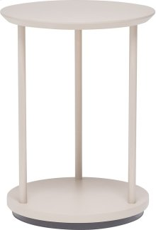 Column Round Lamp Table