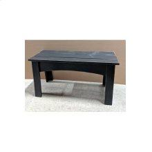 Chalet Bench - Vintage Black