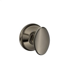 Siena Knob Hall & Closet Lock - Antique Pewter