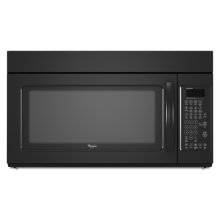 Black Whirlpool® 2.0 cu. ft. Microwave-Range Hood Combination