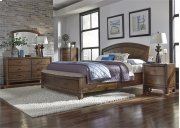 Queen Panel Storage Bed, Dresser & Mirror, Chest, NS Product Image