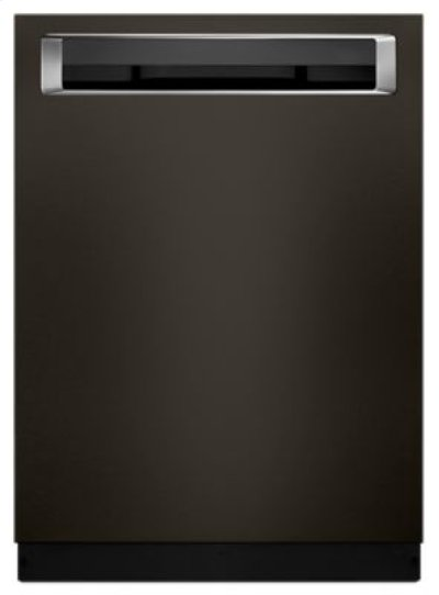 44 DBA Dishwashers with Clean Water Wash System and PrintShield™ Finish, Pocket Handle - Black Stainless Product Image