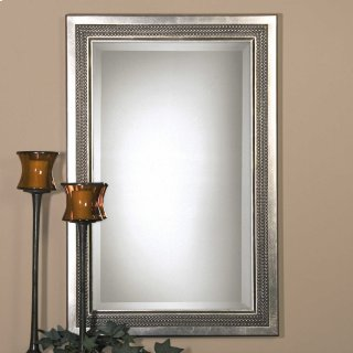 Triple Beaded Vanity Mirror
