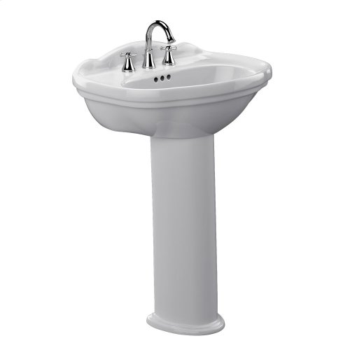 Whitney® Pedestal Lavatory - Colonial White