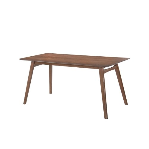 Emerald Home Simplicity Triangular Dining Table Walnut D550-17